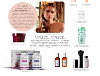 In the press - Bridal beauty arsenal