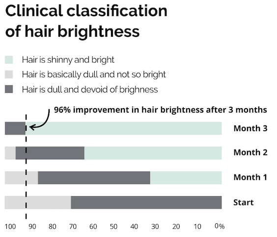 HAIR BRIGHTNESS TEST