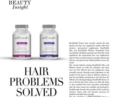 In the press - Hair problems solved